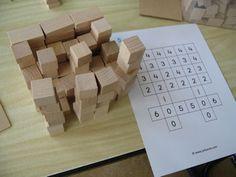 bouwen met blokjes voorbeeldkaarten