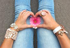 Bijou Brigitte loves flowers