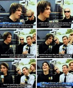 My Chemical Romance | funny moments everyone loves The Killers!