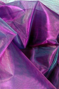 Organza Fabric Iridescent Purple 9ft  http://www.save-on-crafts.com/iridescence.html