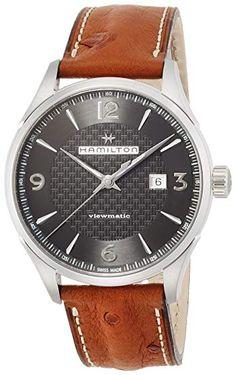 4685006b9 Hamilton Jazzmaster Viewmatic Auto H32755851 Black/Brown Leather Analog Automatic  Men's Watch Review Hamilton Jazzmaster