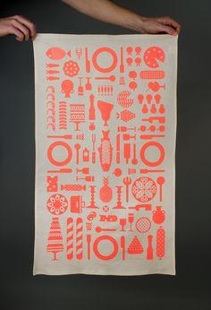 Madison Graphics's tea towel