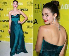 Emmy Rossum In Johanna Johnson – LA Opera's White Night Season Opening Gala | Red Carpet Fashion Awards