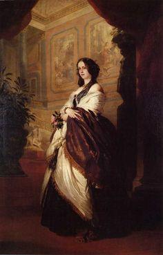 Franz Xavier Winterhalter (1805-1873)Harriet Howard, Duchess of Sutherland