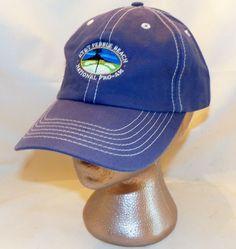 AT&T Pebble Beach National Pro-Am PGA Tour American Dry Goods Blue Golf Cap Hat #AmericanDryGoods #BaseballCap