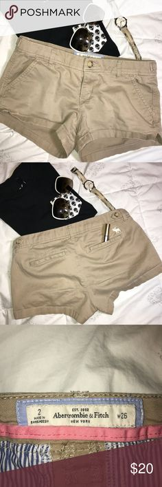 Abercrombie & Fitch  shorts Casual  and comfortable shorts. In good condition. Abercrombie & Fitch Shorts Skorts