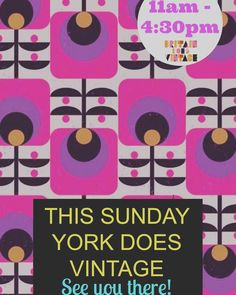 #Yorkdoesvintage is THIS Sunday! Share and show your friends! #vintage #vintagefashion #vintagetearoom #acousticmusic #liveband #vintagebeauty #britaindoesvintage #bdvoutandabout