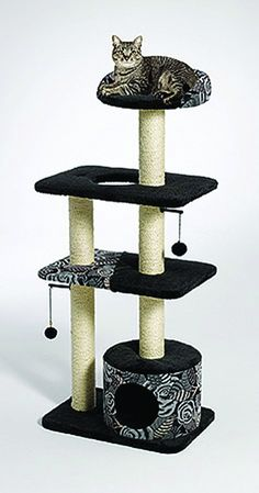 Feline Nuvo Tower Cat Furniture ^^ Special cat product just for you. See it now! : Cat Tree and Tower