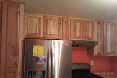 Custom Rustic Hickory Kitchen