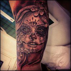 calaveras mexicanas tattoo - Buscar con Google