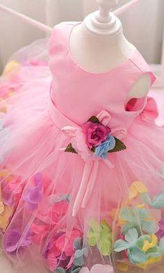 kız cocuk abiye elbise çiçek desenli,bebek elbise,kız çocuk elbise,kız çocuk elbise modeller