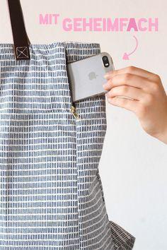 It's Tutorial Time! - Sew-to-seam bag - Seaman's yarn • handmade