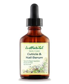 Natural Cuticle and Nail Serum Oil for dry cracked nails