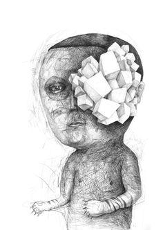 Headsongs part 1 by Stefan Zsaitsits, via Behance