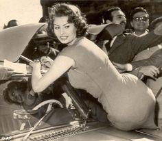 Sophia Loren and Mer