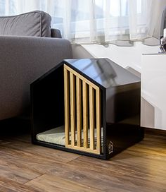 Modern Dog Houses, Cool Dog Houses, Pet Beds, Dog Bed, Dog Accesories, Elephant Mugs, Dog Furniture, Dog Crate, Animal House