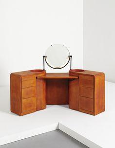 PHILLIPS : NY050114, Jean Dunand, dressing table with illuminated mirror
