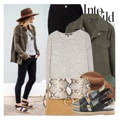 A fashion look from September 2015 featuring rag & bone sweaters, Topshop jackets and AG Adriano Goldschmied jeans. Browse and shop related looks. Fashion 2017, Fashion Outfits, Fashion Trends, Street Style 2017, Work Chic, Polyvore Outfits, Polyvore Fashion, Fall Outfits, What To Wear