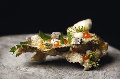 Chef David Toutain serves inspired, creative fare at his eponymous restaurant. The Perfect Weekend in Paris - Condé Nast Traveler Best Restaurants In Paris, Restaurant Paris, French Restaurants, Photo Restaurant, Chefs, Cod Dishes, Molecular Gastronomy, Food Presentation, Food Design