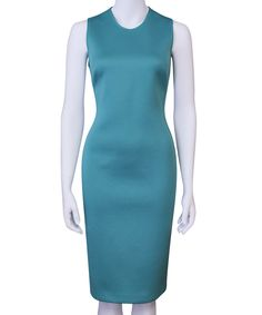 Sleeveless Dress >> Such a beautiful color!