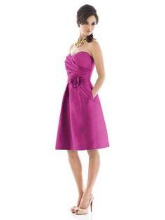 Raspberry BM Dress