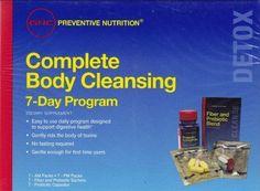 GNC Preventive Nutrition Complete Body Cleansing Program 7-Day Program 01/16 #GNC