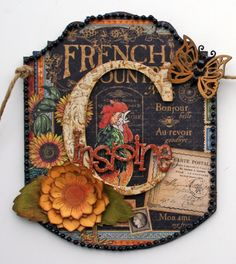 Create banner from French Country.  Tutorial on my blog for altering the letters.