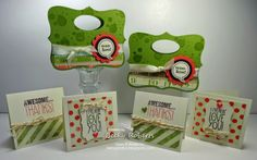 An Old Favorite, The Top Note Die Circle Punch, Quick Cards, Vintage Labels, Rubber Stamping, Thank You Cards, Cardmaking, Stampin Up, Card Stock, Christmas Cards