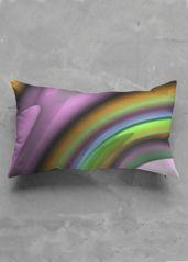 Rainbow fractal - Accent Pillow - Luster Oblong by Constantina Seracin Accent Pillows, Bed Pillows, Pillow Inserts, Fractals, Pillow Cases, Rainbow, Beautiful, Collection, Pillows