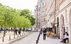 After an incredible two-year restoration project, every detail of 25 Place Dauphine has been carefully curated. We invite you to check out 25 Place Dauphine Paris Summer, New Paris, Europe Must See, Parisian Architecture, Beautiful Paris, Paris Shopping, Best Location, Paris Travel, Nice View