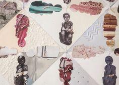 Secret Sins sewn collage by enjoyjanuary on Etsy