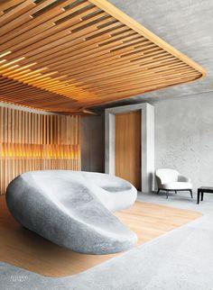 Jouin Manku Designs Sensory Annex for Hôtel des Berges in France