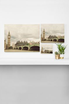 Happee Monkee Big Ben Art Canvas   DENY Designs Home Accessories