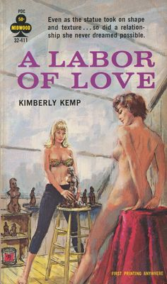 "The cover artwork for the lesbian-themed novel ""A Labor of Love"""