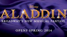 Disney's Aladdin Musical PR