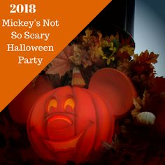 Once again, in 2017 Mickey's Not-So-Scary Halloween Party will be held at Walt Disney World's Magic Kingdom. This after dark special event