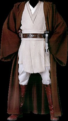 Jedi ( Star Wars ) Costume :D I have desires to make one... some day in a galaxy far far away.