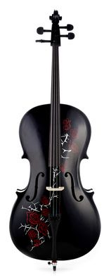 Thomann Red Rose Cello 4/4 BK