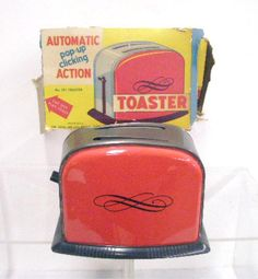1960's Ohio Art Co. Toy Toaster