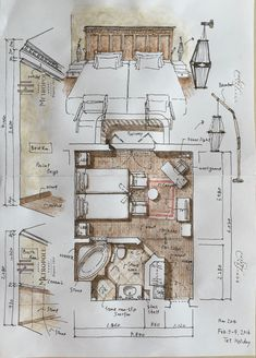 Architecture Journal, Architecture Drawing Sketchbooks, Architecture Concept Drawings, Art And Architecture, Classical Architecture, Interior Design Classes, Interior Design Sketches, Interior Design Presentation, Presentation Layout