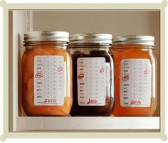 FREE Calendar Labels + check out the free jam labels on that site.
