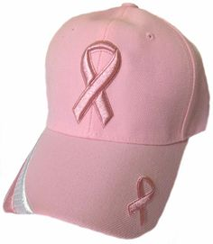Pink Ribbon Baseball Cap Breast Cancer Awareness Womens Hat Breast Cancer  Awareness 0ab437d99708