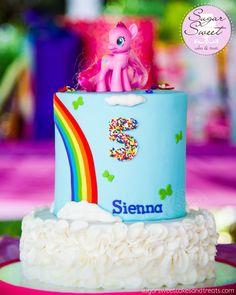 My Little Pony Rainbow Cakes