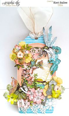 Gorgeous Once Upon a Springtime Tag from Keri Sallee #graphic45