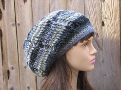 CROCHET PATTERN!!! Crochet Hat - Slouchy Reverseble Hat, Crochet Pattern PDF,Easy, Great for Beginners, Pattern No. 39
