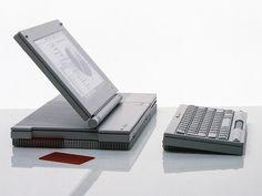 Apple #MacBook, entworfen 1984 #FrogDesign