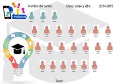OrlaOnline | Plantilla de orlas para colegios Educación y Graduación