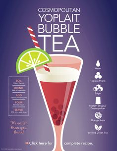 Yoplait® Bubble Tea