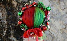 Nikolpress: Χτενίσματα στο πνεύμα των Χριστουγέννων