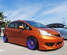 Honda Fit 2012 Stanced